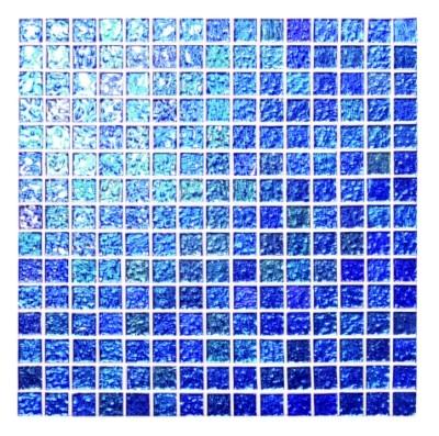 Crystal Blue Mosaic