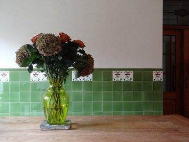 Artworks tegels, Sint Anna B&B PetitHotel, Yerseke