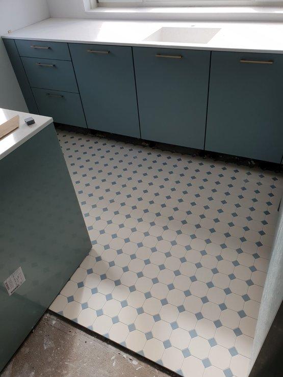 Perfect gecombineerd met de kleur van de keuken