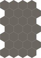 Bisazza cementtegel Hexagon Fango E 200 x 230