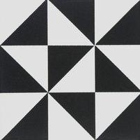 7953V Avignon Black on Dover White 151 x 151