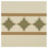 8010V Marrakech Borders Dublin, Khaki and Old London on White 151 x 151