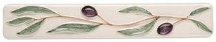Bon Appetit Olive Border 200 x 35