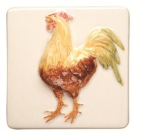 A La Ferme Cockerel 100 x 100