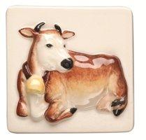 A La Ferme Cow 100 x 100