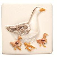A La Ferme Geese 100 x 100