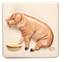 A La Ferme Pig 100 x 100