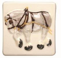 A La Ferme Shire Horse 100 x 100