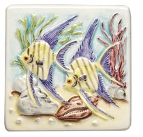 Coral Reef Angel Fish 100 x 100
