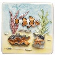 Coral Reef Clown Fish 100 x 100