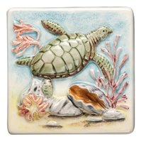 Coral Reef Turtle 100 x 100