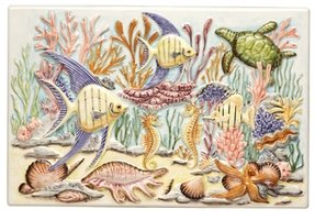 Coral Reef Coral Reef Plaque 300 x 200