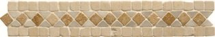 Athenian Braid Travertine Mosaic 300 x 50