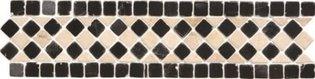 Athenian Quadrant Black Mosaic 300 x 70