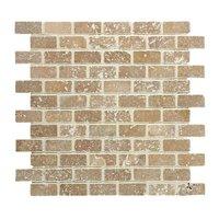 Brickbond Noce Tumbled Mosaic 305 x 305