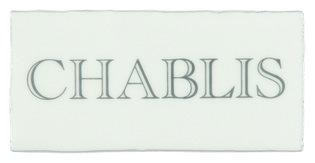 Chablis Grey on Papyrus 130 x 63