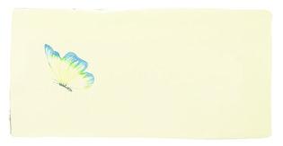 Azure Angel Half Tile Pastel on Palomino 130 x 63