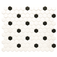Black and White Honeycomb Black and White Honeycomb 297 x 257