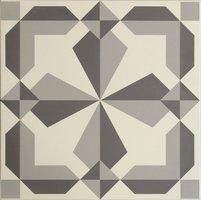 8734 Lewtrenchard Dark Grey & Light Grey 298 x 298