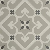 8741 Epoque White & Dark Grey On Grey 298 x 298