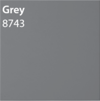 8743 Plain tile (fired) Grey 298 x 298