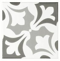 Josette Grey on Brilliant white 152 x 152