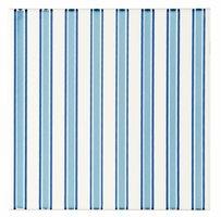 Riviera Blue on Brilliant White 152 x 152