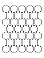 Winckelmans Hexagon Blanc 50 x 50 x 5 (op net)