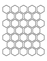 Winckelmans Hexagon Gris pale 50 x 50 x 5 (op net)
