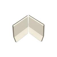 Opzetplint (PAR) binnenhoek - set Blanc 100 x 100