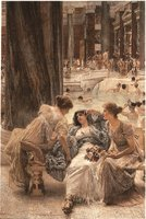 Alma-Tadema: The Baths of Caracalla (1899) Multi colour 560 x 380