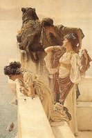 Alma-Tadema: A Coign of Vantage (1895) Multi colour 560 x 380