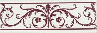 Acanthus Burgundy Burgundy 152 x 50