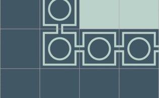 Bisazza border cementtegel Square Focus Blu 200 x 200