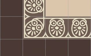 Bisazza border cementtegel Square Papua Vagli 200 x 200