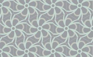 Bisazza cementtegel Hexagon Blossom Polvere 200 x 230