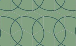 Bisazza cementtegel Hexagon Compas Galicia 200 x 230