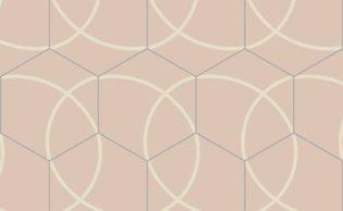 Bisazza cementtegel Hexagon Compas Granada 200 x 230