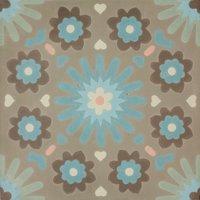 Big Star Khaki Patroontegel Multi color 200 x 200