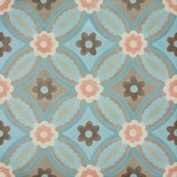 Poppy Blue Patroontegel Multi color 200 x 200