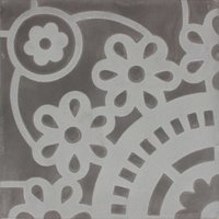 Sunflower Grey Patroontegel Multi color 200 x 200
