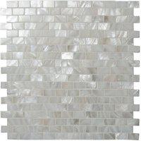 Brickbond Pearl Mosaic 318 x 310