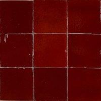 Zellige Rouge 100 x 100