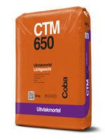 CTM650 Uitvlakmortel 25 kg