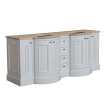 Holton Twin Vanity 900 X 2140 X 720 - Oak - Without Top