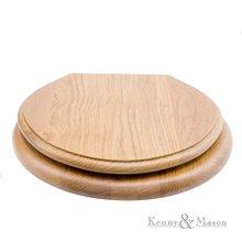 Toilestseat Massif Oak Wood