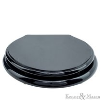 Toiletseat Black Lacquer High Gloss