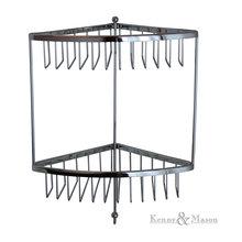 Double Corner Shower Basket
