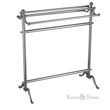 Free Standing Double Towel Rail