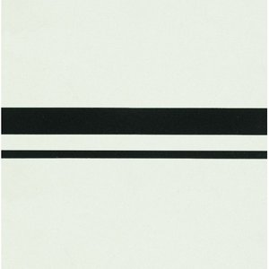 Cavendish border, Black on Dover White 151 x 151